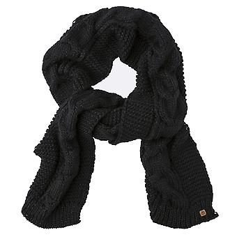 Element Feather Top Scarf - Black