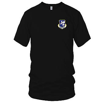 USAF Airforce - USAFE Det 5 Embroidered Patch - Hook And Loop Ladies T Shirt