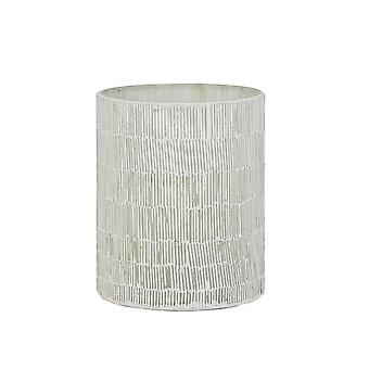 Light & Living Tealight Ø12x15 Cm MACAO Mosaic White-cement