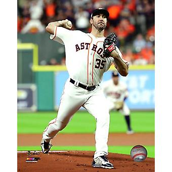 Justin Verlander Game 6 of the 2017 American League Championship Series Photo Print