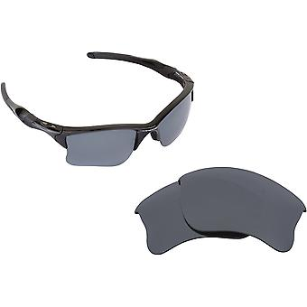 Half Jacket 2.0 Replacement Lenses Polarized Blue & Silver by SEEK fits OAKLEY