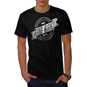 Geht rechts gehen links Männer BlackT-t-Shirt | Wellcoda