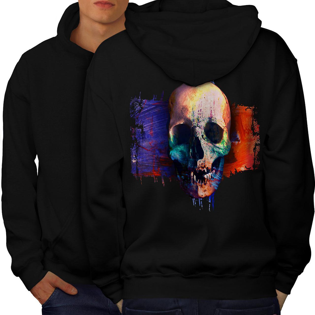 Bad Guy crâne Death Metal Men noirHoodie dos