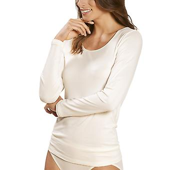 Mey 56202-5 Women's Emotion Champagne Solid Colour Long Sleeve Top