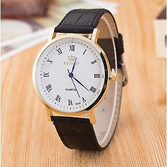 Smart Slim Thin Black Watch