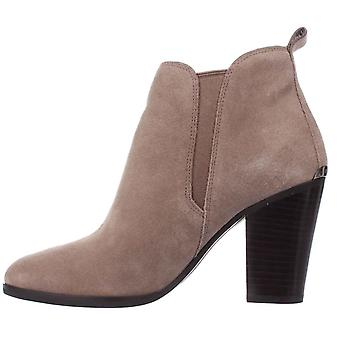 MICHAEL Michael Kors Womens Brandy Suede Closed Toe Ankle Fashion Boots