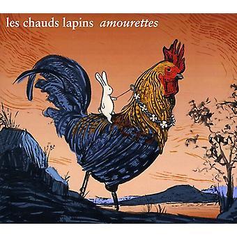 Les Chauds Lapins - Amourettes [CD] USA importerer