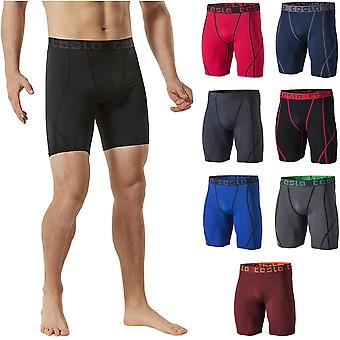 c3fb57e8ec0c8 TSLA Tesla MUS17 Cool Dry Baselayer Sport Compression Shorts