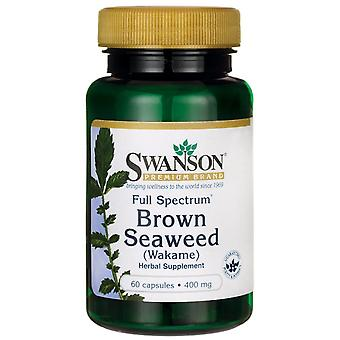 Swanson Full Spectrum Brown Seaweed Wakame 400 mg 60 caps (Herbalist's , Supplements)