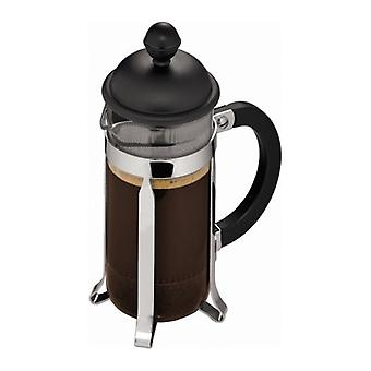 Bodum Caffettiera - French Press Cafetiere - Borosilicate Glass - Various Sizes