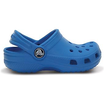 Crocs Boys Classic Kids Croslite Slingback Beach Clog Royal