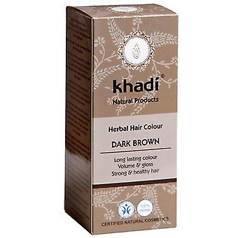 Khadi Herbal Color Castaño Oscuro 100 gr (Hair care , Dyes)
