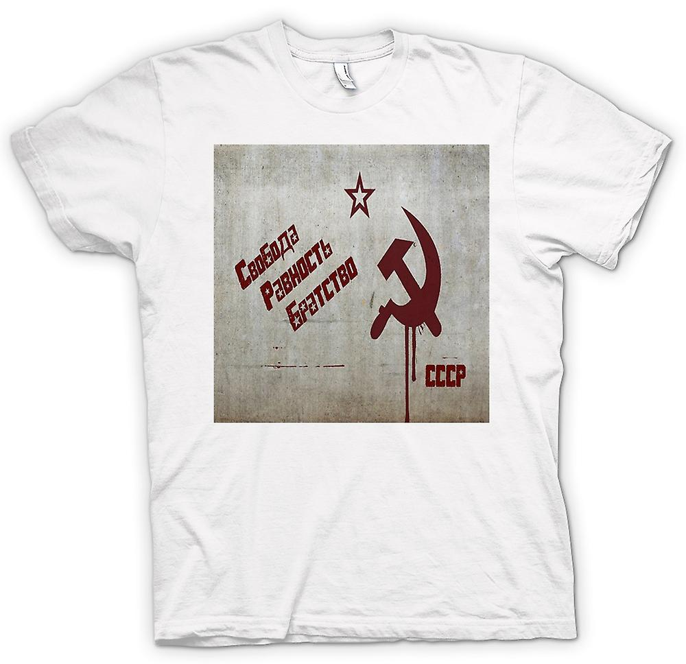 Womens T-shirt - Soviet Union - Russia - Cool Design