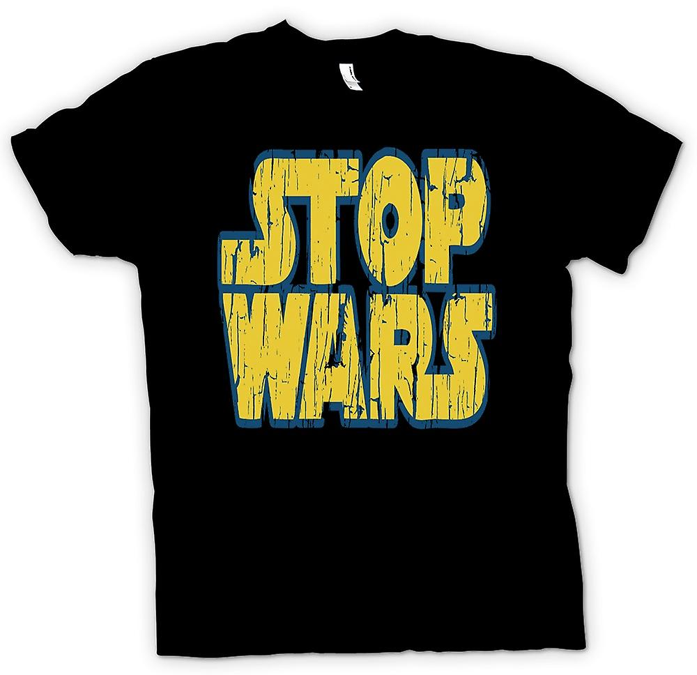 Womens T-shirt - Stop Wars (Star Wars) - Conspiracy - Funny