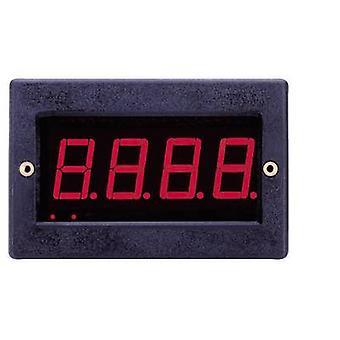 Digital rack-mount meter VOLTCRAFT PM 129 LED Digital-Panel-Meter ± 199.9 mV Assembly dimensions 67 x 29 mm