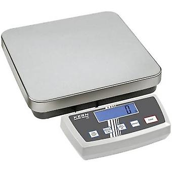 Kern Platform scales Weight range 6 kg Readability 1 g, 2 g mains-powered, battery-powered, rechargeable Silver