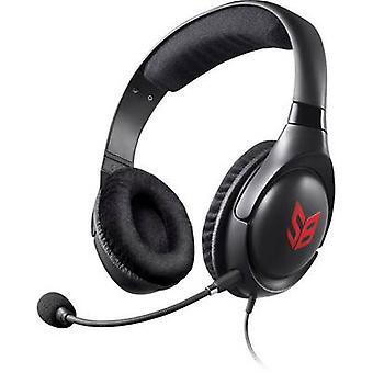 Creative Sound Blaster Blaze Gaming zestaw słuchawkowy 3,5 mm jack przewodowe, Stereo Over--ear czarno czerwony