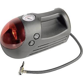 Brüder Mannesmann compresor M 10 097-T bar Flasher, inspección incluido luz, Manómetro analógico, Cable ordenado, doble tirada