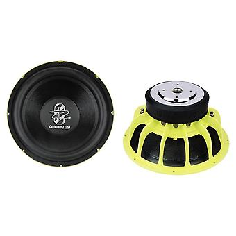 "Ground zero GZRW 38 SPL 15 ""38 cm subwoofer, 1500 Watt 1 bit nya"