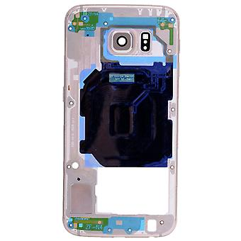 Gold Rear Housing For Samsung Galaxy S6