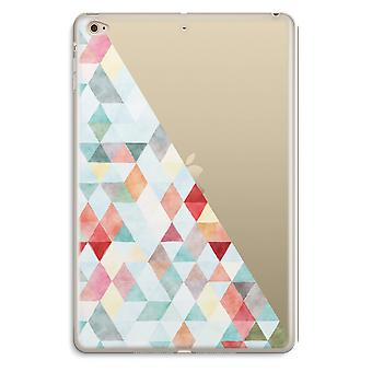 iPad Mini 4 Transparent Case (Soft) - Coloured triangles pastel