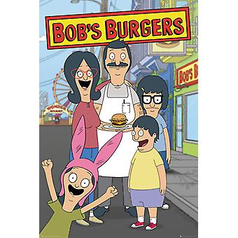 Bobs Burgers Family Poster Poster Print