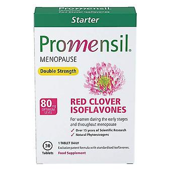 Promensil Menopause Starter Red Clover Isoflavones Double Strength 80mg 30 Tablets (1 Month Supply)