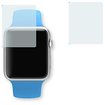 Apple Watch sport 38mm screen protector - Golebo crystal-clear protector (miniature sheet)