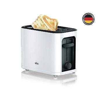 Braun HT3000WH White PurEase 2 Slice Toaster