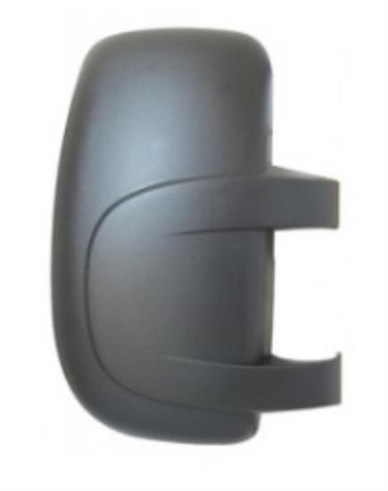 Right Driver Side Mirror Cover (noir Grained) VAUXHALL MOVANO Van 2003-2010