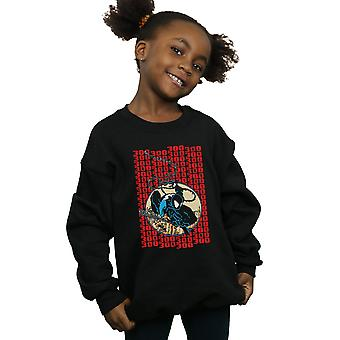 Marvel Universe Girls Spider-Man Pixelated Cover Sweatshirt