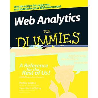 Analítica web para Dummies por Pedro Sostre - Jennifer LeClaire - 97804