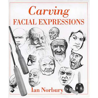 Carving Facial Expressions by Ian Norbury - 9780854420674 Book