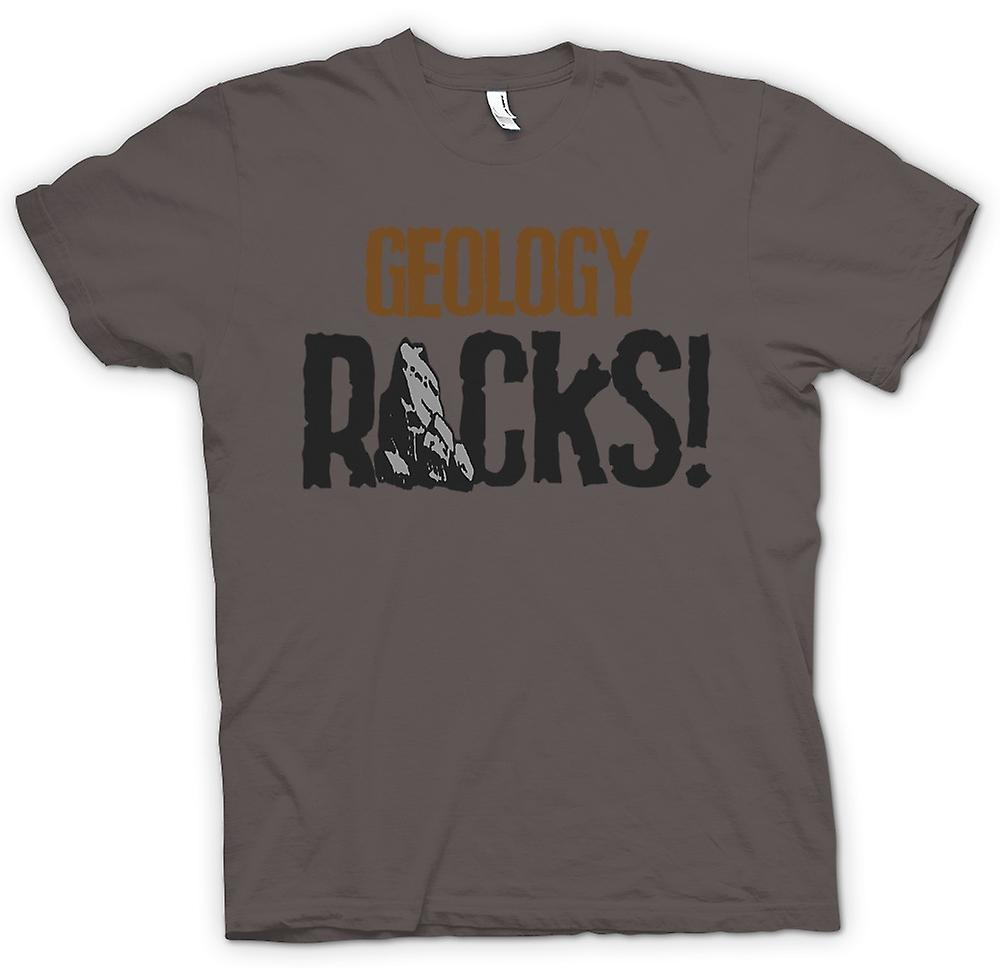 Mens T-shirt - Geology Rocks - Funny