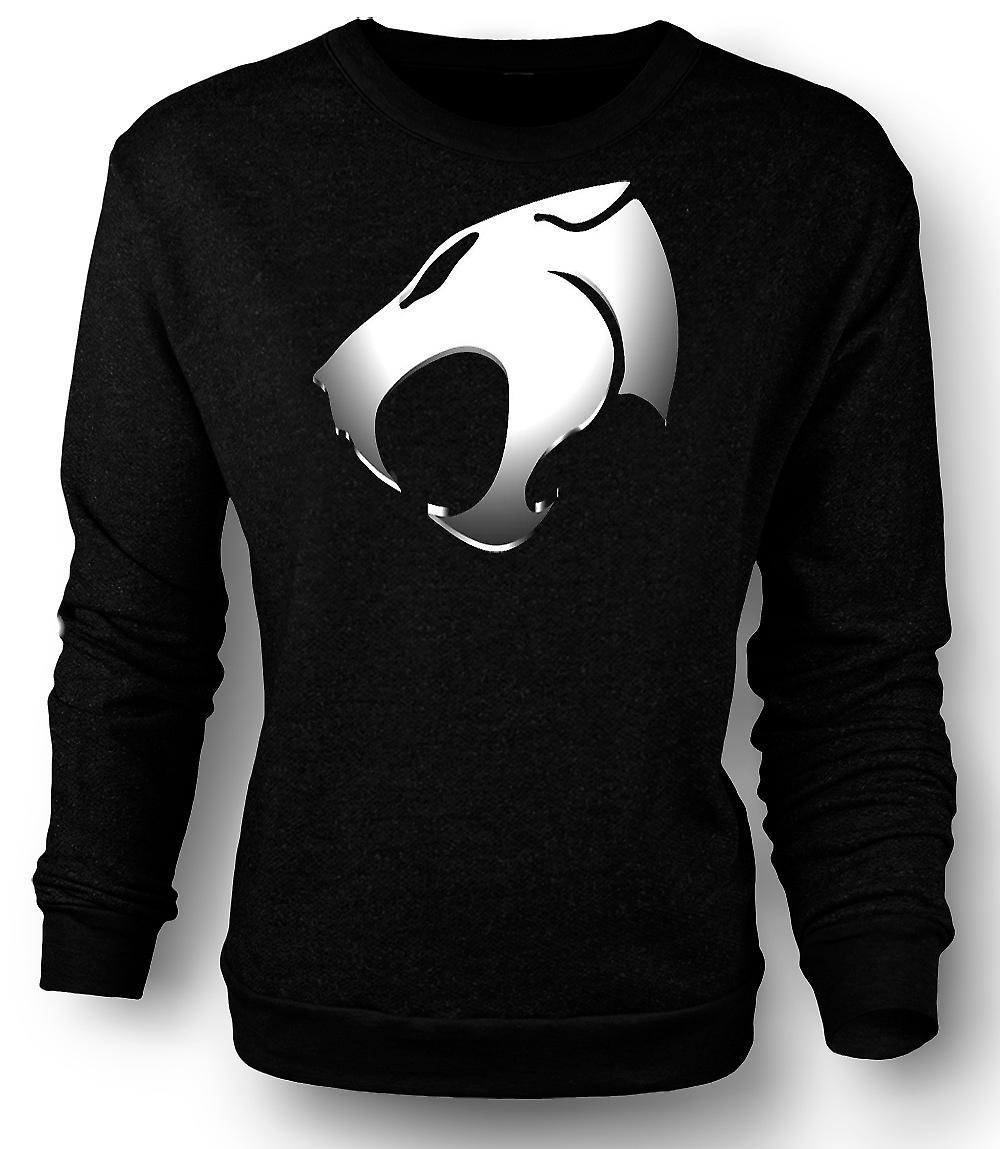 Mens Sweatshirt Thundercats - Metallic Logo