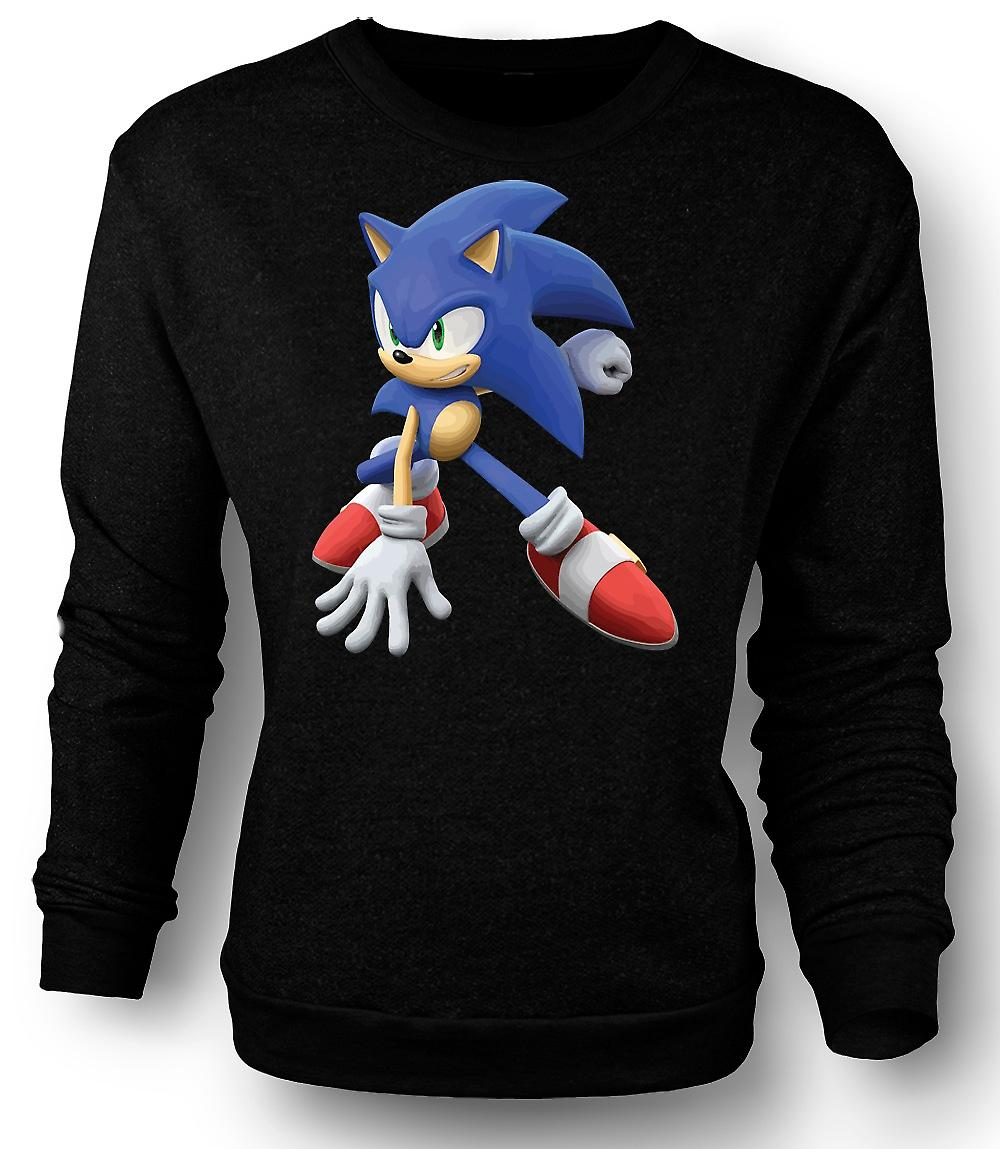 Mens Sweatshirt Sonic The Hedgehog - Gamer