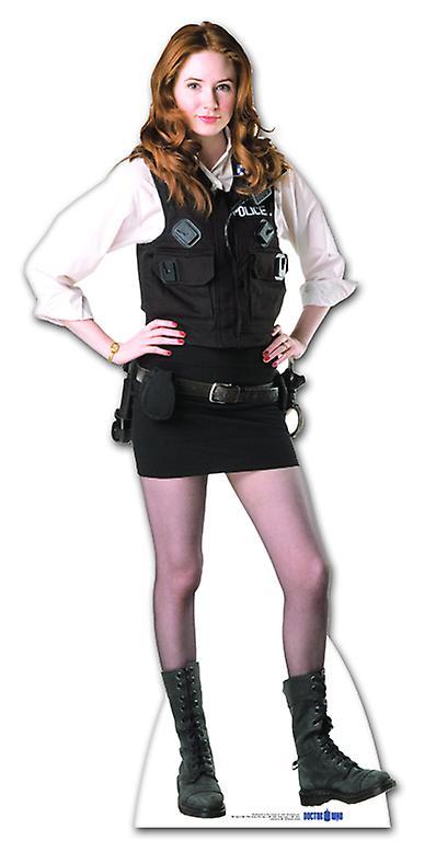 Amy Pond politieagente Uniform - Lifesize karton gestanst / Standee (Karen Gillan)