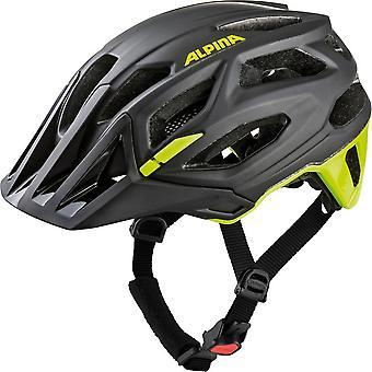 Alpina garbanzo bike helmet / / black/neon yellow