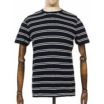Edwin Jeans West Stripe Tee - Navy