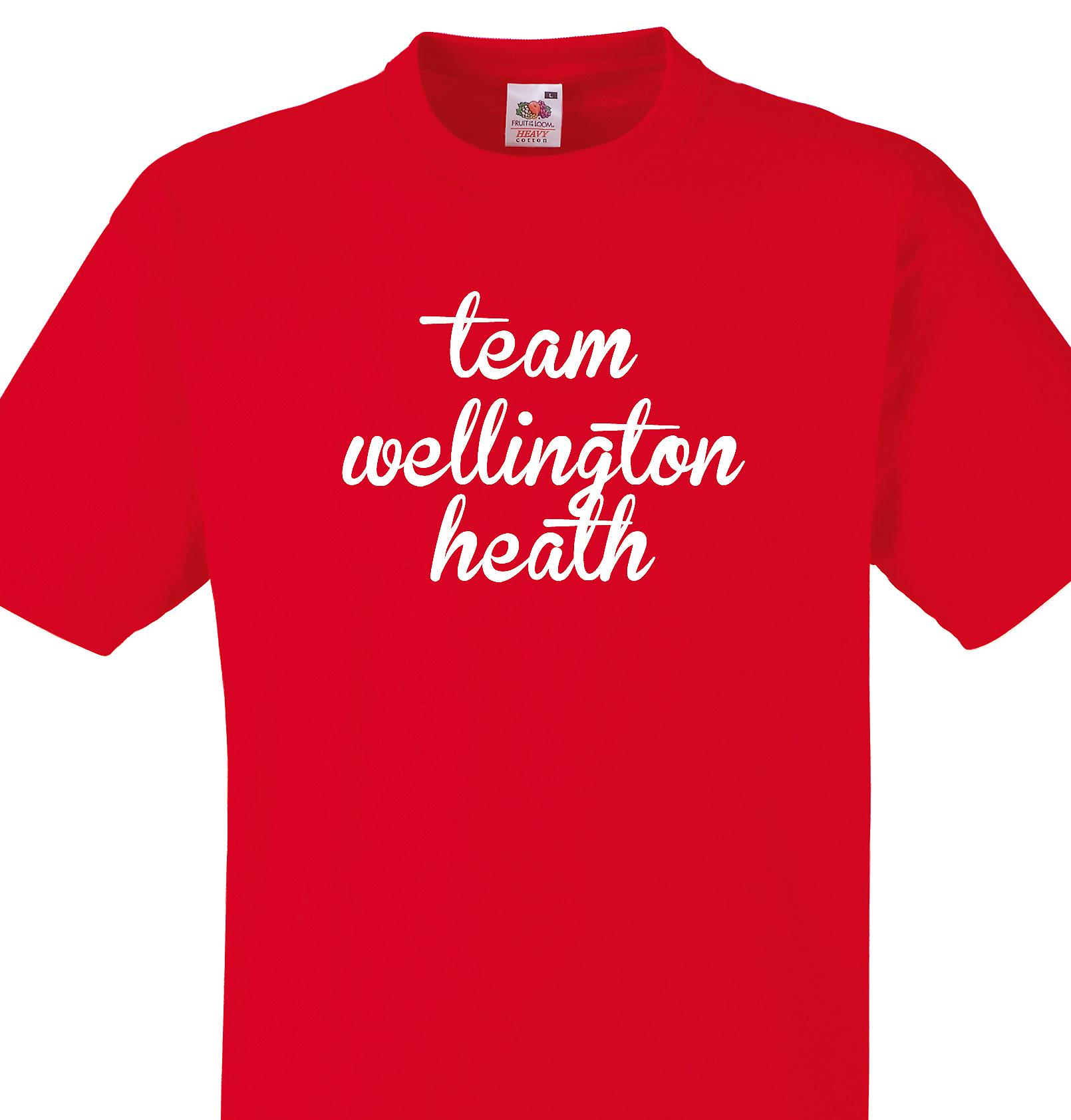 Team Wellington heath Red T shirt