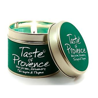 Lily Flame Scented Candle in a presentation Tin - Taste of Provence