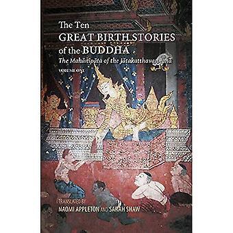 Les histoires dix grands de naissance du Bouddha