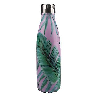 Pioneer 0.5L Hawaiian Pink Pattern Vacuum Bottle