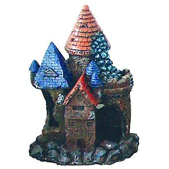 Agrobiothers Fortress Red Roof Small (Fish , Decoration , Ornaments)