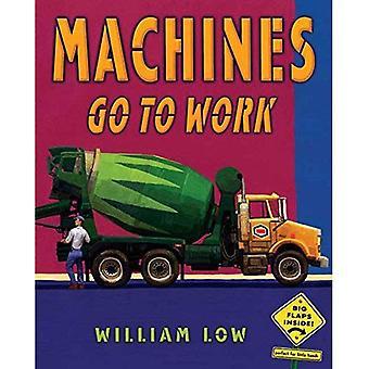 Maskiner gå till arbete