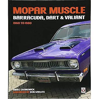 MOPAR muskel - Barracuda, Dart & Valiant 1960-1980