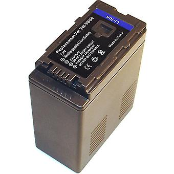 Battery for Panasonic VW-VBG6 HDC-TM700 SDR-H 80 SDR-H80 HDC-SD700 HDC-HS700 HDC-SD10 HDC-SD600