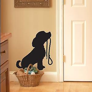 Puppy Dog with Lead Wall Sticker