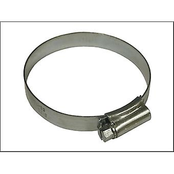 Faithfull 3 Stainless Steel Hose Clip 55 - 70mm