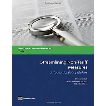 Streamlining NonTariff Measures by Cadot & Olivier